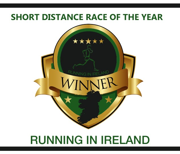Running in Ireland Award Short Distance