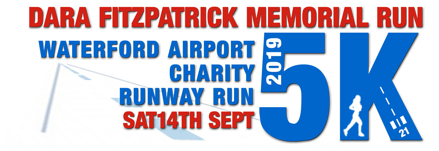 Dara Fitzpatrick Memorial Run logo 2019