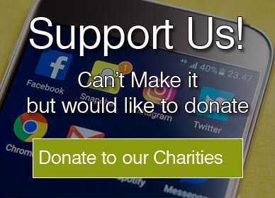 donate to our charities